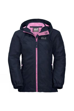 Jack Wolfskin Girls Iceland 3In1 Jacket Midnight Blue