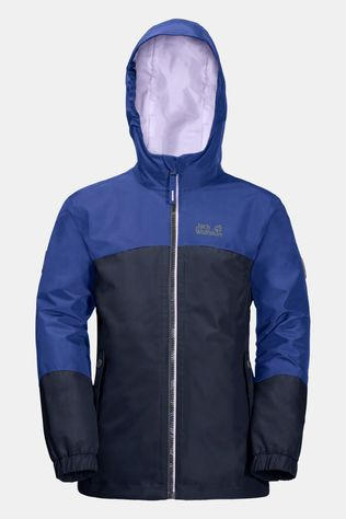Jack Wolfskin Girls Iceland 3In1 Jacket Blueberry