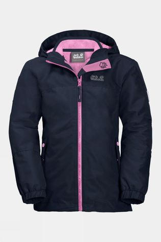 Jack Wolfskin Girls Iceland 3In1 Jacket 14+Y Midnight Blue
