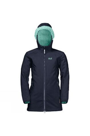 Jack Wolfskin Girls Kissekat Coat Midnight Blue