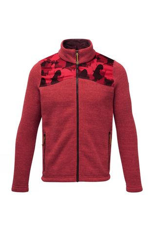 Chris Packham Girls Apatura Fleece Jacket Hibiscus
