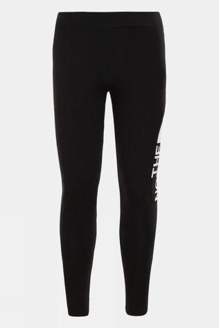 The North Face Girls Cotton Blend Legging Big Logo TNF Black/TNF White