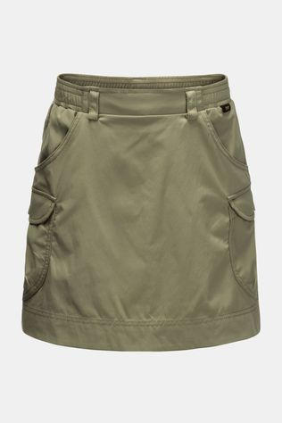 Jack Wolfskin Girls Treasure Hunter Skort Khaki