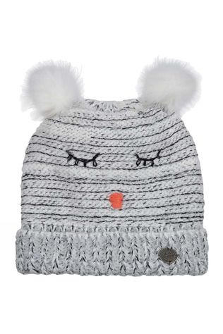 Nordbron Kids Furry Beanie White