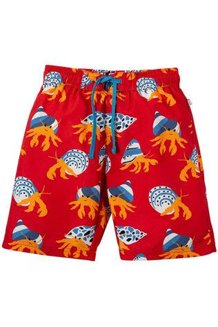 Frugi Childrens Board Shorts Totally Clawsome SS19
