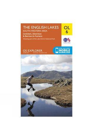 Ordnance Survey Explorer Map OL6 The Lake District - South-Western Area V15