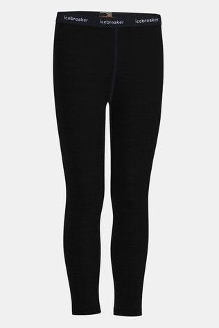 Icebreaker Boys 200 Oasis Leggings Black