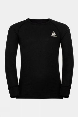 Odlo Kids Active Warm Eco Long Sleeve Crew Neck 14+ Black
