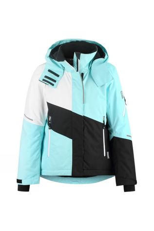 Reima Girls Seal Jacket 14+ Light Turquoise/White/Black