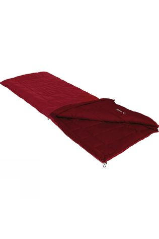 Vaude Navajo 500 Sleeping Bag Small Dark Indian Red