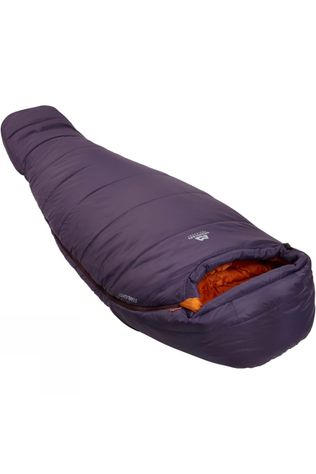 Mountain Equipment Womens Starlight II Sleeping Bag Long Aubergine / Blaze