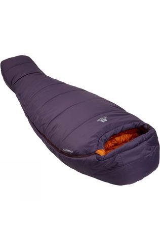Mountain Equipment Womens Starlight III Sleeping Bag Long Aubergine / Blaze