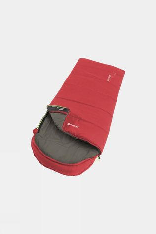 Outwell Campion Junior Synthetic Sleeping Bag Red