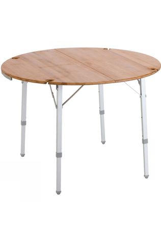 Vango Bamboo Round Table 100cm No Colour
