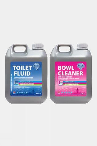 Blue Diamond Toilet Fluid & Cleaner 2L Double Pack No colour