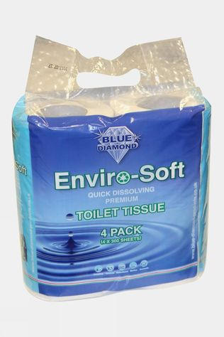 Blue Diamond Enviro-Soft Premium Toilet Roll 4 Pack No colour