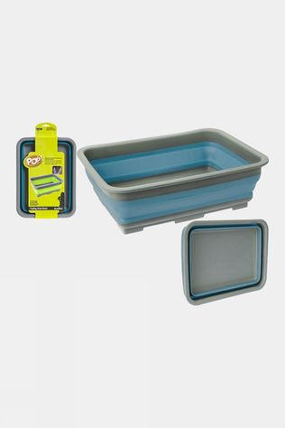 Summit Pop! Collapsible Wash Basin Blue/Grey