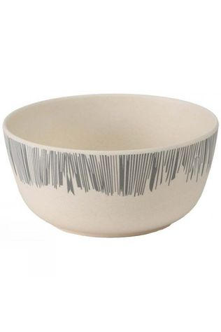 Vango Bamboo 14cm Bowl Grey Stripe