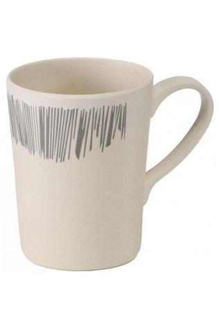 Vango Bamboo 350ml Mug Grey Stripe