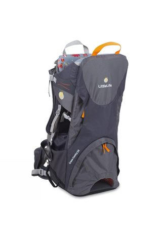 LittleLife Cross Country S4 Child Carrier Grey/Orange