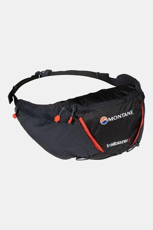 Montane Trailblazer 3 Waistpack Charcoal/Firefly Orange