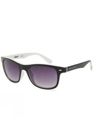 Bloc Junior Wafer Sunglasses Black White/Grey Grad