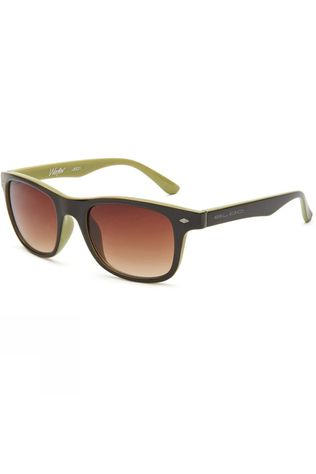 Bloc Junior Wafer Sunglasses Choc Green/Brown Grad
