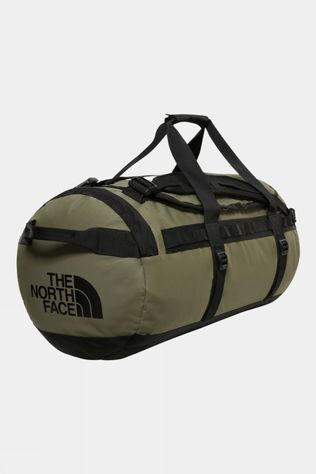 The North Face Base Camp Duffle Bag Medium Burnt Olive Green/TNF Black