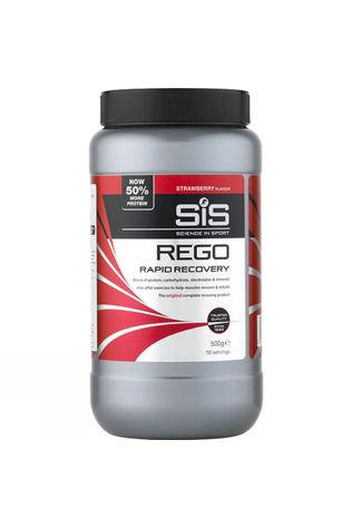 SiS Rego Rapid Recovery Protein Strawberry 500g No Colour