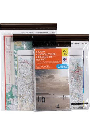 Lifeventure DriStore LocTop Map Bag (Set of 3) No Colour