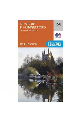 Explorer Map 158 Newbury and Hungerford