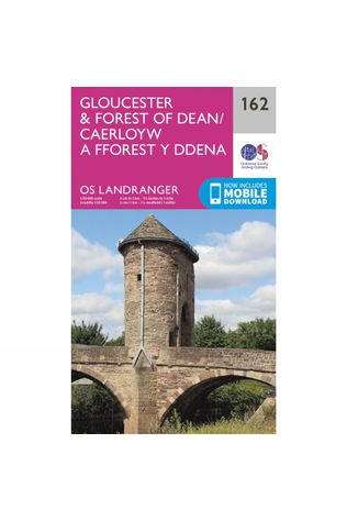 Landranger Map 162 Gloucester and Forest of Dean