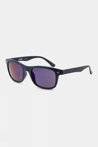 Bloc Junior Wafer Sunglasses Navy/Blue Mirror