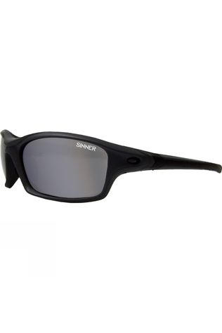 Sinner Eaton Sunglasses Matt Grey/Smoke Revo