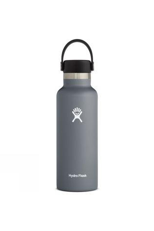 Hydro Flask Standard Mouth 18oz with Flex Cap Stone