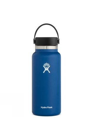 Hydro Flask Wide Mouth 32oz Flask Flex Cap Cobalt