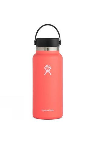 Hydro Flask Wide Mouth 32oz Flask Flex Cap Hibiscus