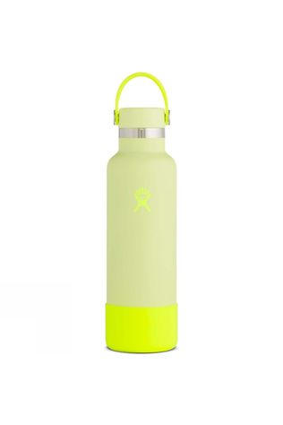 Hydro Flask Prism Standard Mouth 21oz with Flex Cap & Boot Bright Yellow