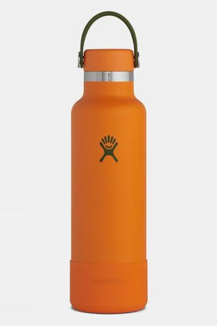 Hydro Flask Timberline Standard Mouth 21oz with Flex Cap & Boot Bonfire
