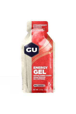 GU GU Energy Gel - Strawberry and Banana  Strawberry/Banana