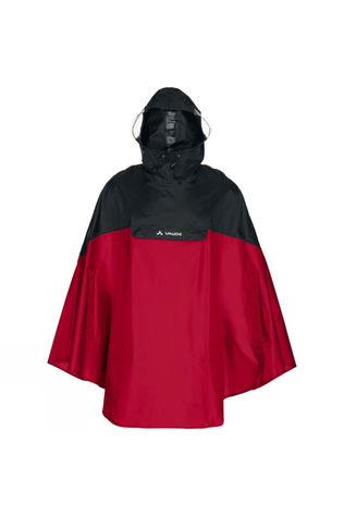 Vaude Covero Poncho II Indian Red