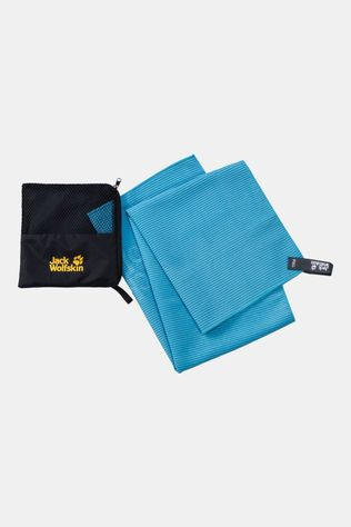 Jack Wolfskin Great Barrier Towel M Turquoise