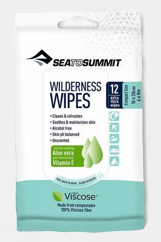 Sea to Summit Compact Wilderness Wipes No Colour