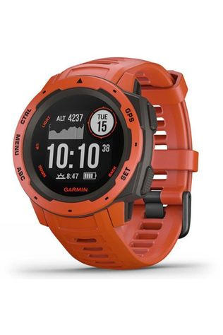 Garmin Instinct GPS Watch Flame Red