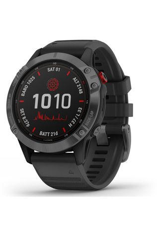 Garmin Fenix 6 Pro Solar Multisport GPS Watch Grey/Black Band