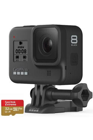 HERO8 Action Camera Black + 32GB MicroSD Card