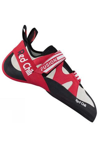 Red Chili Mens Fusion VCR Climbing Shoe Anthracite red