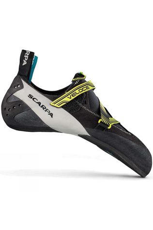 Scarpa Veloce Climbing Shoe Black/Light Yellow (DNU)