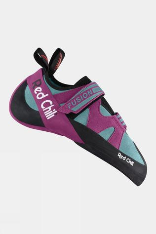 Red Chili Womens Fusion VCR Climbing Shoe Turquoise Purple