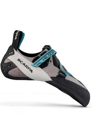 Scarpa Womens Veloce Climbing Shoe Lt Grey/Light Blue (DNU)